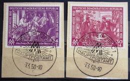 ALLEMAGNE Rép.démocratique               N° 1/2                OBLITERE - Used Stamps
