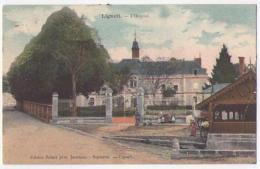 (37) 318, Ligueil, Subert Colorisée, L'Hospice, état - Francia