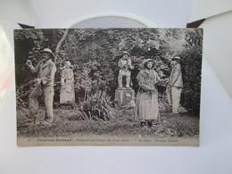 C P A        14X9   CLERMONT FERRAND  1921  FONTAINE PETRIFIANTE - Clermont Ferrand