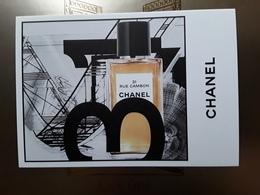 """Superbe Carte  CHANEL   """"   31 Rue Cambon   """"  Voir Photo  !! - Cartes Parfumées"""