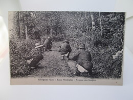 C P A        14X9  ALVIGNAC   EAUX   MINERALES   AVENUE DES  SOUPIRS - Frankrijk
