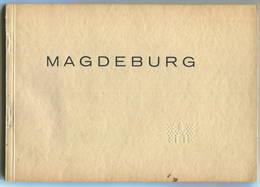 Magdeburg 1928 - 35 Teils Ganzseitige Abbildungen Mit Erläuterungen - Herausgegeben Vom Wirtschaftsamt Der Stadt Magdebu - Saxe-Anhalt