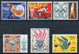 1968 - QATAR- OLYMPIC MEXICO - 6 VAL.  - M.N.H. LUXE !!- - Qatar