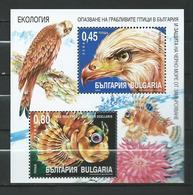 Bulgaria 2004 Animals Protection.Fauna/Birds.fish.S/S. MNH - Neufs