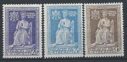 Irlande 1950 N°113/115 Neufs * MLH Année Sainte - 1949-... République D'Irlande