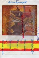 ESPAGNE- MALLORCA- PALMA- BULLFIGHT CORRIDA DE TOROS- TRAUREAUX- 8 AOUT 1965- ARENES-EL ARENAL- TOREO- TAUROMACHIE- - Programmi