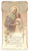 IMAGE PIEUSE RELIGIEUSE HOLY CARD SANTINI HEILIG PRENTJE GENEALOGIE VILLELONGUE Bouasse 5416 : RAYNAUD Denise - Marie - Devotion Images