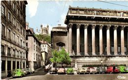 1 Cpsm Lyon - Palais De Justice (voiture) - Autres