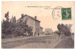 (37) 876, Manthelan, Préa 7, La Gare - Francia