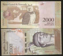 Venezuela 2000 Bolivares 2016 Pick NEW UNC - Venezuela