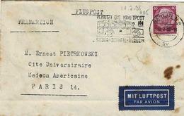 TP N°495 (Y&T) Sur Enveloppe De Berlin Pour Paris,par Avion - Allemagne