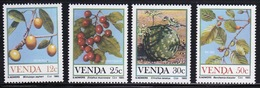 Venda 1985 Complete Set Of Stamps Celebrating Food From The Veld 1st Series. - Venda
