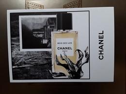 """Superbe Carte  CHANEL   """"   Bois Des îles  """"  Voir Photo  !! - Cartes Parfumées"""