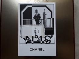 """Superbe Carte  CHANEL   """"    N°  18    """"  Voir Photo  !! - Cartes Parfumées"""
