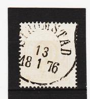 AUA366 SCHWEDEN 1858 MICHL 10 Used / Gestempelt ZÄHNUNG SIEHE ABBILDUNG - Usati