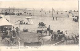 ***  85  *** LES SABLES D'OLONNE Sur La Plage - Le Parc à ânes - Timbrée TTB - Sables D'Olonne