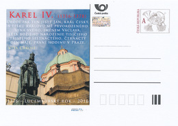 Rep. Ceca / Cart. Postali (Pre2016/12) Anno Lussemburghese - Carlo IV (1316-1378) - Interi Postali