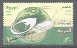 Egypt 2007 Yvert 1956, Post International Day - MNH - Egypt