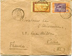 CAMEROUN LETTRE DEPART DUME 2 DEC 28 CAMEROUN POUR LA FRANCE - Cameroun (1915-1959)