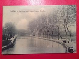 DIGOIN Le Vieux Canal Depuis Le Pont Bourbon - Digoin