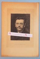 Gravure Fin XIXè Gustave LARROUMET écrivain Historien D'art - Né à Gourdon - L'artiste - Villecresnes - Estampas & Grabados