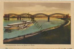 Eisenbahnbrücke Hamm Bei Neuss Am Rhein [AA7 206 - Germany