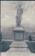 POSTAL PARIS - JARDIN DES TUILERIES - STATUE DE DIANNE - GONDRY - Estatuas
