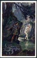Die Schwanenjungfrau, Schwan, Jungfrau, Bund Der Deutschen In Niederösterreich, Nr. 251, Pinx H. Pinggera - Märchen, Sagen & Legenden