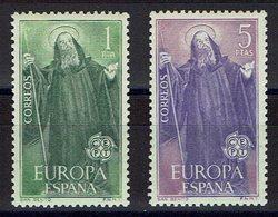 SERIE 2 TIMBRES ESPAGNE 1965 MNH - EUROPE CEPT - Europa-CEPT