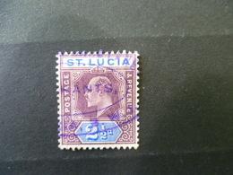 TIMBRE ST LUCIA  OBLITERE - St.Lucia (...-1978)