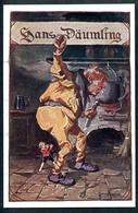Hans Däumling, Le Petit Poucet, Charles Perrault, Bechstein, Bund Der Deutschen In NÖ.,pinx H. Pinggera - Märchen, Sagen & Legenden