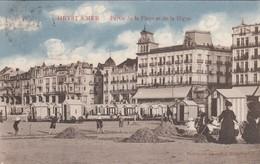 HEIST / GEDEELTE VAN DE ZEEDIJK EN STRAND / EDITIE MARCOVICI  1913 - Heist