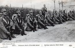 MILITARIA - REGIMENTS - Infanterie Serbe - Nouvelle Tenue - Régiments