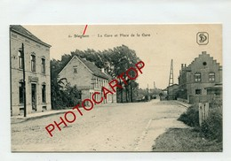 DIEGEM-Dieghem-GARE-Cafe De La Gare-1916-Periode GUERRE 14-18-1WK-BELGIEN-Militaria- - Diegem