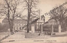 CPA [70] Haute Saône > Champlitte - L'Hôtel De Ville - France