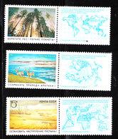 U.r.s.s.  -.  1989. Salvaguardia Foreste, Animali, Terra. Safeguard Forests, Animals, Earth.. Complete MNH Set - Protezione Dell'Ambiente & Clima