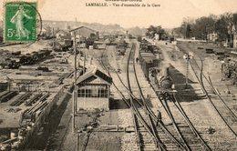 Lamballe -    Vue  D' Ensemble  De  La  Gare. - Lamballe
