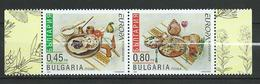 Bulgaria 2005 EUROPA Stamps - Gastronomy. MNH - Neufs