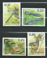 Bulgaria 2005 Dragonflies. MNH - Neufs