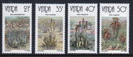 Venda 1990 Complete Set Of Stamps Celebrating Aloes. - Venda