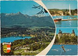 Waterski: Velden Am Wörthersee - Bucht Von Velden  - Kärnten, Austria - (Wasserschi Österreich) - Waterski