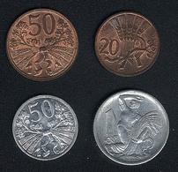 Tschechoslowakei, Lot 1947/48/51/52, UNC - Czechoslovakia