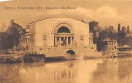 """1349 """" TORINO - ESPOSIZIONE 1911 - PADIGLIONE DELLA RUSSIA """"CART. ORIG. NON SPED. - Exhibitions"""