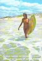 NUE Surf Planche   (nu Nue Seins Nus Nude Nudisme Naturisme) Editions :AS De COEUR Photo Max Berque  *PRIX FIXE - Illustrators & Photographers
