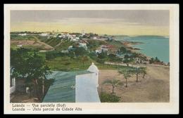 LUANDA - Vista Parcial Da Cidade Alta ( Ed. Souza Fontes ) Carte Postale - Angola