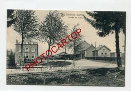 GEDINNE STATION-TRAM-Gare-Train-Periode Guerre 14-18-1 WK-Belgien-Feldpost-Cachet JEMELLE - Gedinne