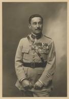Médecin Des Armées Couvert De Médailles . Photo L. Coutanceau à Bordeaux . - War, Military