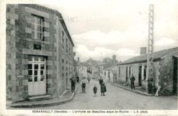 N°65139 -cpa Venansault -l'arrivée De Beaulieu Sous La Roche- - Otros Municipios