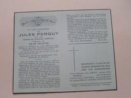 DP Jules PERQUY (Silvie Dedeyne) Oostkamp 13 Dec 1863 - 3 Maart 1946 ( Zie Foto's ) ! - Décès