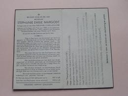 DP Stephanie MARGODT (Lecluyse) Gullegem 7 Jan 1880 - 25 Jan 1947 ( Zie Foto's ) ! - Décès